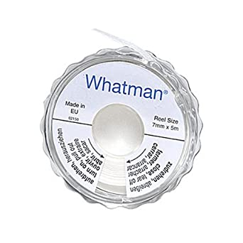 GE Whatman 2602-500A Specialized Potassium Iodide Test Paper Reel Dispenser, 5m Length x 7mm Width