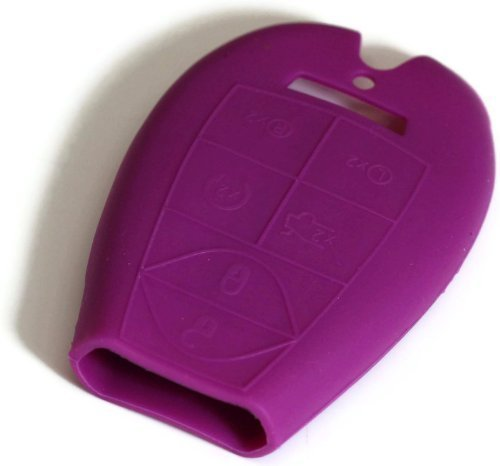 purple-silicone-key-fob-cover-case-smart-remote-pouches-protection-key-chain-fits-chrysler-town-coun