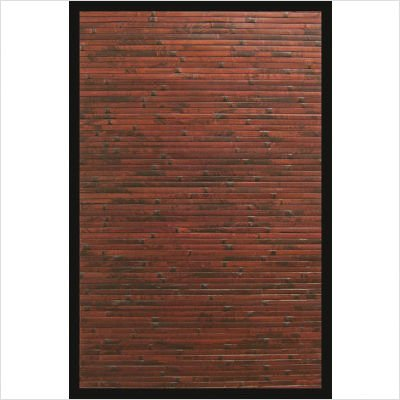 Anji Mountain Traditional Bamboo Rug 5' x 8' - Cobblestone (Pack of 2)