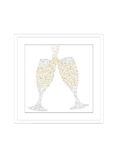 Confetti Bubbles! I Framed Artwork On Paper