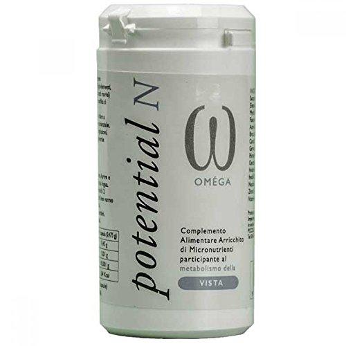 Gefo Nutrition Potential N Omega Integratore Alimentare 60 Capsule