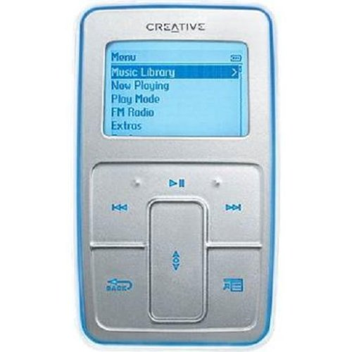 Creative Zen Micro 6 GB MP3 Player Silver