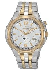 Seiko Kinetic Two-tone Bracelet Men's watch #SKA516