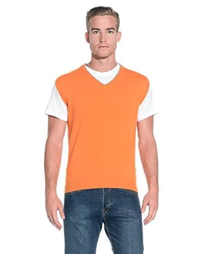 Beretta Gilet Maglia Country Wool V Neck [Arancione]