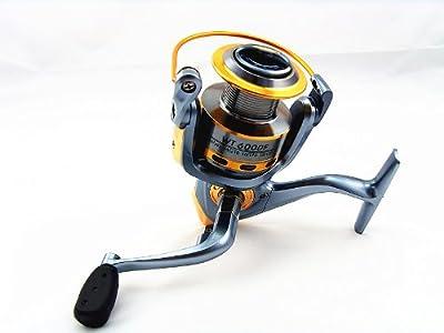 Spinning Fishing Reels 81 Bearing Jk Wt-6000f 511 Gear Ratio from JK GLOBAL TRADING LLC
