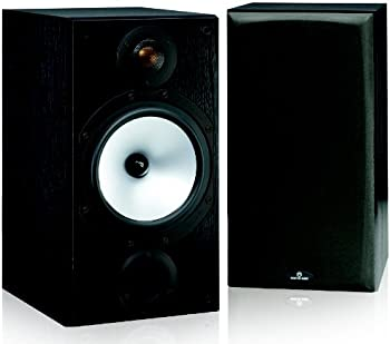 Monitor Audio MR2 Black Oak Bookshelf Speakers