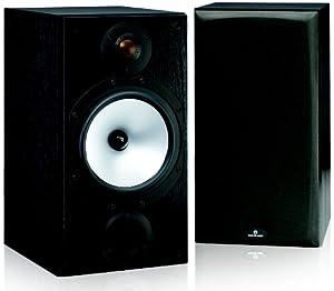 Monitor Audio MR2 2-Way Bookshelf Speaker, Pair (Black Oak Vinyl Wrap) (Discontinued by Manufacturer)