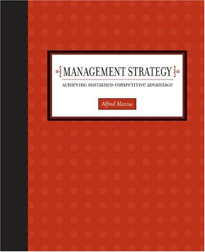 Management Strategy: Achieving Sustained Competitive...