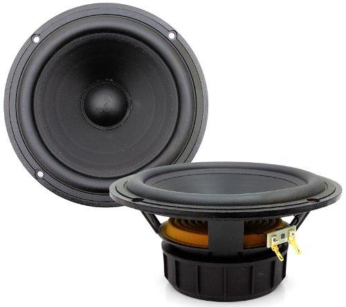"""6H1 - Focal 6.5"""" 50 Watts Rms Mid Speakers (Pair)"""
