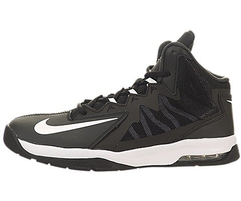 Boy's Nike 'Air Max Stutter Step' Basketball Shoe Black/ Ant