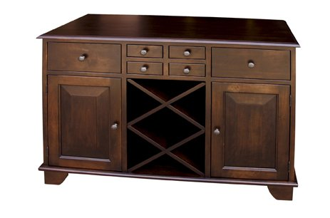 Buy Low Price Amish Furniture House Amish USA Made Three Door Buffet – gb-001 (B003YD9YDE)