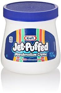 Kraft Jet Puffed Marshmallow Creme Spread, 7 Oz