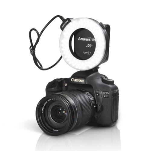 Zenness Aputure Amaran Halo Ahl-H100 Led Ring Flash Light For Canon Eos 7D 6D 50D 5D Mark Iii 5D Mark Ii 700D 70D 650(T4I) 20D
