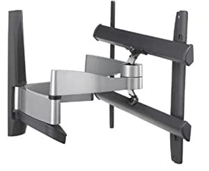 Vogels EFW6345 - Soporte multibrazo con desplazamiento, giro e inclinación para LCD/Plasma, pantallas de 32-50 pulgadas, color plata