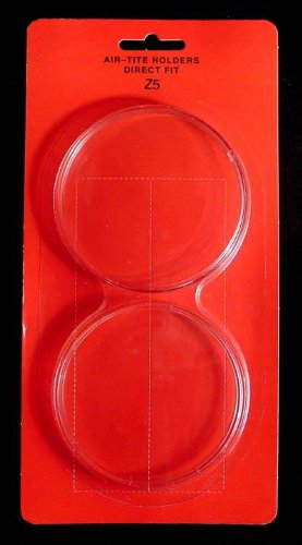 "Air-Tite Direct Fit ""Z5"" Coin Holder for 5oz. ROUNDS"