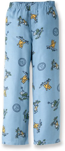 Life Is Good Boys Sleep Pants - Skateboard Collage Blue (Xx Small 2T-3T) front-642214