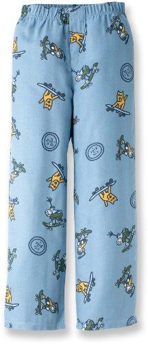 Life Is Good Boys Sleep Pants - Skateboard Collage Blue (XX Small 2T-3T)