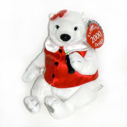 #0278 Coca-Cola Lady Polar Bear Exclusive 2000