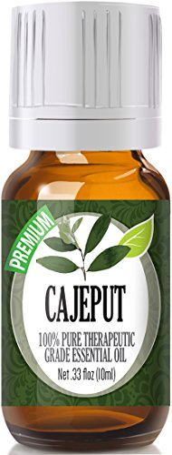 Cajeput 100% Pure, Best Therapeutic Grade Essential Oil - 10ml