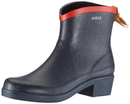 Aigle - Stivali di gomma, Donna, Blu (Bleu (Marine/Rouge)), 40 EU