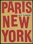 Paris New York Arts Yearbook 3 by Unknown