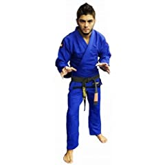 Bull Terrier Comp Kit 2 PANTS BJJ Gi - Blue by Unknown