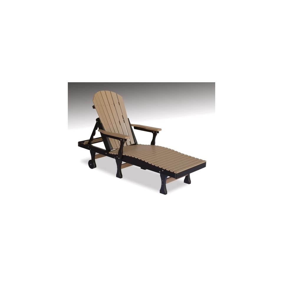 Berlin Gardens Comfo Back Chaise Lounge (Made In The USA
