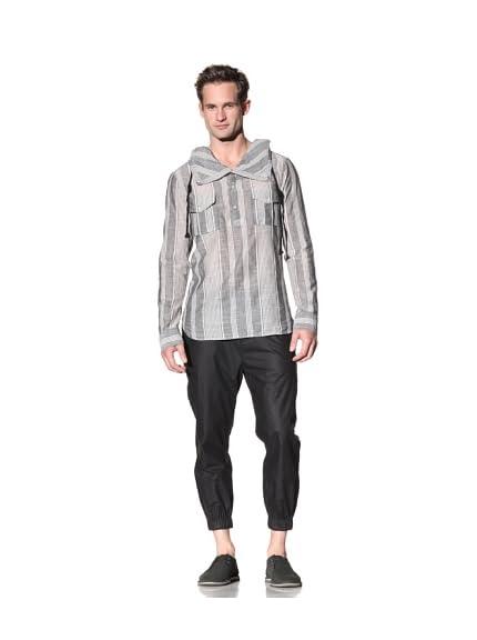 Nicholas K Men's Meyer Hoody Lightweight Woven Shirt