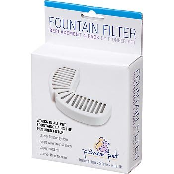 Pioneer Pet Watering Fountain Filter Replacement for Pets