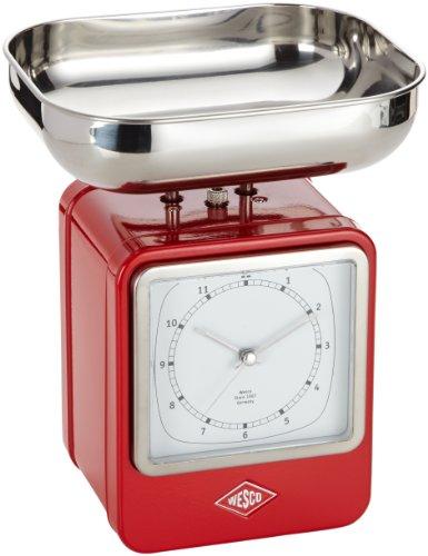 Wesco 322204-02 Balance de cuisine (Rouge)