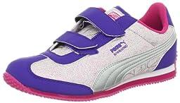 PUMA Whirlwind Swirl V Sneaker (Toddler/Little Kid),Cabaret/Liberty Blue/Puma Silver,5 M US Toddler