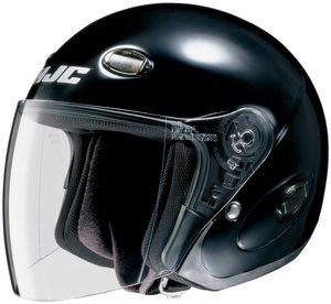 HJC CL-33 CL33 CRUISER BLACK SIZE:XLG Motorcycle Open-Face-Helmet
