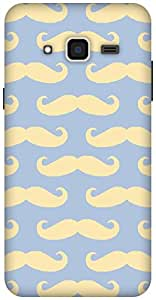 The Racoon Grip Mustaches hard plastic printed back case / cover for Samsung Galaxy J3(2016)