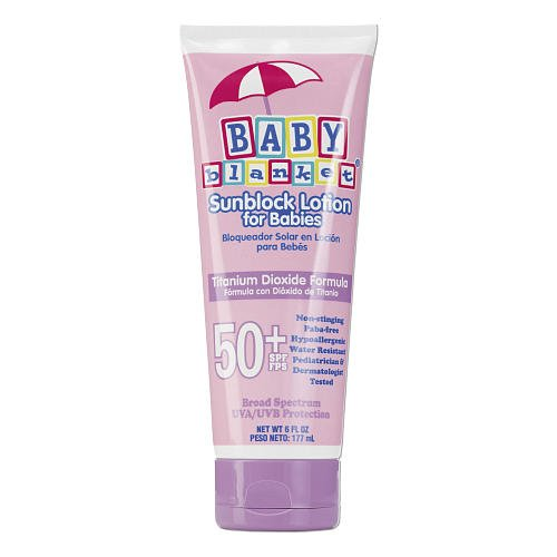 Baby Blanket Titanium Dioxide Sunscreen Lotion - SPF 50+ - 6 oz - 1