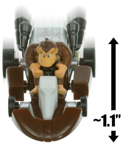 """Donkey Kong Kart ~1.1"""" Mario Kart Pull Back Racer"""