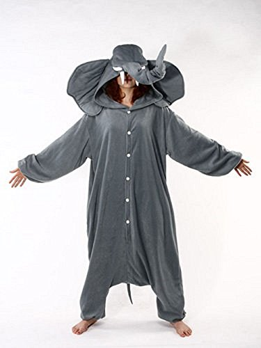 Adult Elephant Costume Pajamas
