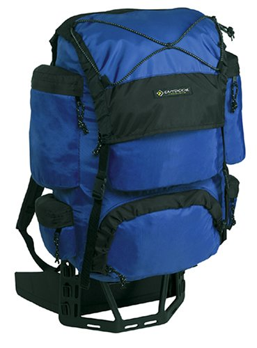 Outdoor Products Dragonfly External Frame Backpack (Cobalt) (External Frame compare prices)