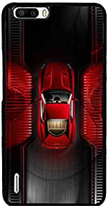 PrintVisa Sports Car Case Cover for Huawei Honor 6 Plus