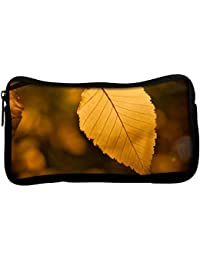 Snoogg Roots Of Tress Poly Canvas Student Pen Pencil Case Coin Purse Utility Pouch Cosmetic Makeup Bag