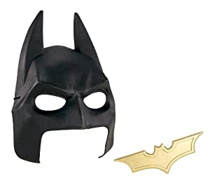 Batman The Dark Knight Rises Cowl and Batarang Role Playset