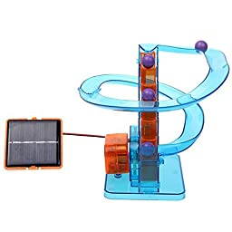 Solar Roller Coaster Beads Ladder Intellectual Educational Toy Novelty Kit