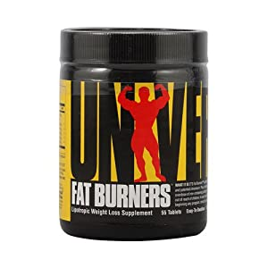 Easy-To-Swallow Fat Burners Universal Nutrition 55 Tabs