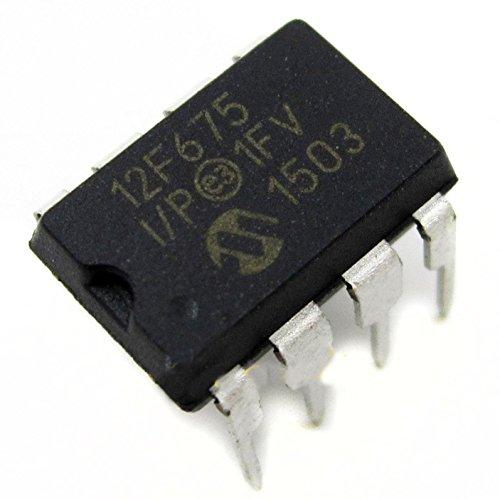 5 Pcs PIC12F675-I/P PIC12F675 DIP-8 MICROCHIP