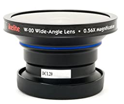 Ikelite W-20, 0.56x Wide-Angle Conversion Lens with a 46mm Mounting Thread.