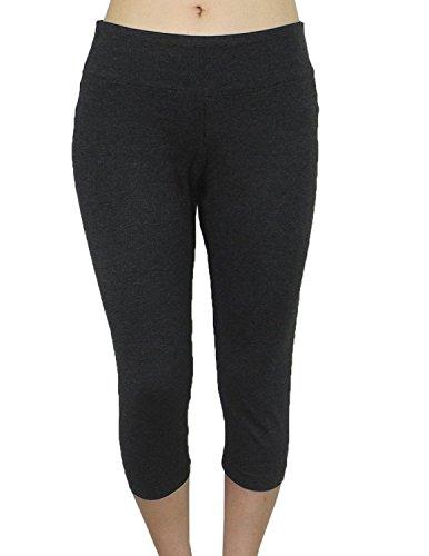 bally-total-fitness-damen-sports-skinny-leggings-yoga-capri-hosen-l-dunkel-grau