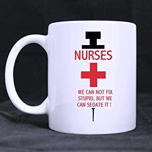 Best Funny Nurses And Doctors Gift Cup Nurses Can T Fix