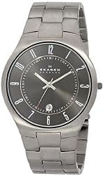 Skagen Men's 801XLTXM Grenen Titanium Watch