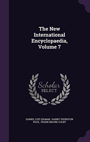 The New International Encyclopaedia, Volume 7