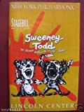 img - for Playbill from Sweeney Todd Live at the New York Philharmonic starring, Patti LuPone George Hearn Audra McDonald Davis Gaines Neil Patrick Harris Music & Lyrics by Stephen Sondheim book / textbook / text book