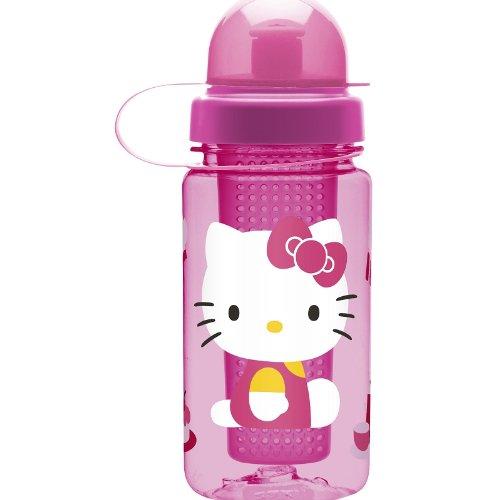 Hello Kitty Tritan Plastic Fruit Infuser Water Bottle 15.5 Oz